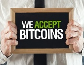 We Accept Bitcoin Here!